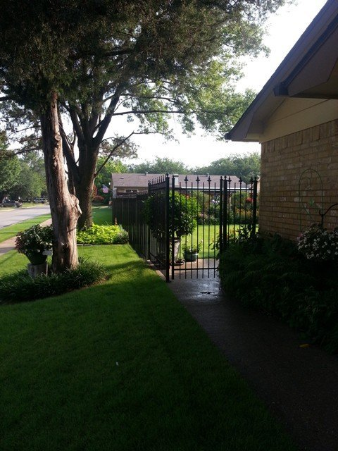 Wrought Iron Fence in Arlington Texas