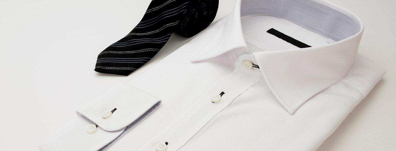 Camicia bianca con una cravatta a Marano di Napoli