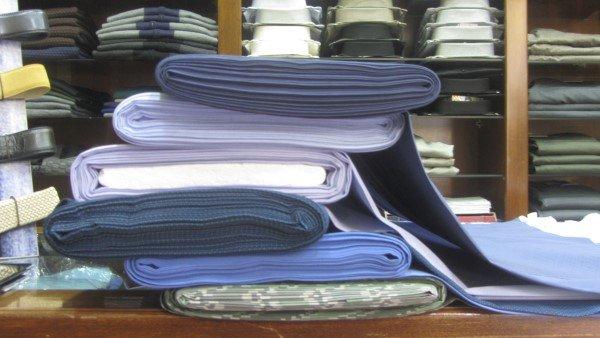 stoffa per camicie sartoriali