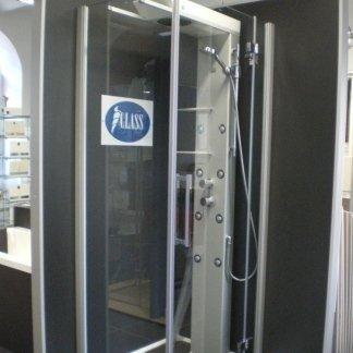 Box doccia con cromoterapia