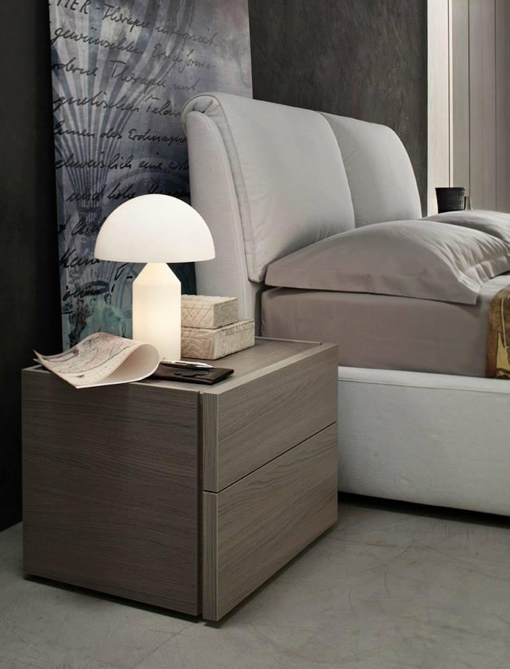 Dettaglio camera da letto moderna