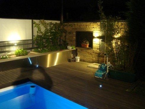 piscina forma ondulata