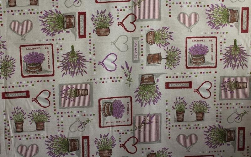tessuti stampati per decorazioni