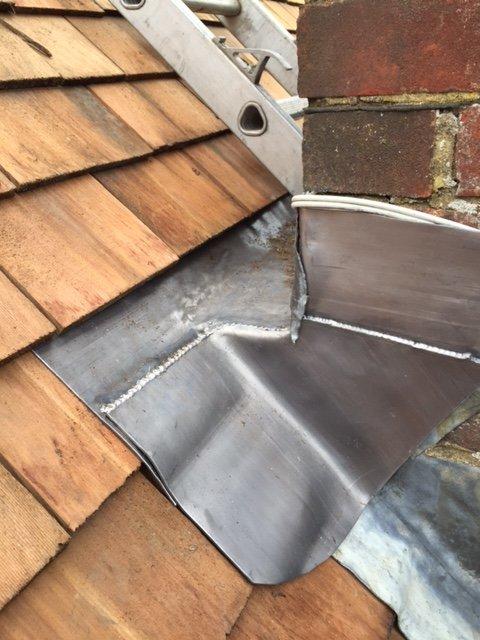installation of slate roof