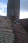 damaged tiled roofing