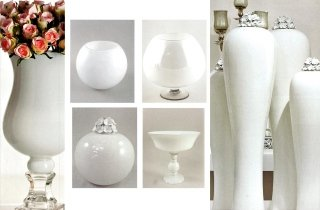 ceramica per addobbi floreali