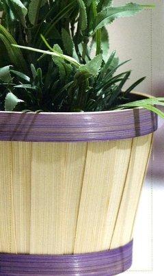 cesti per piante artificiali