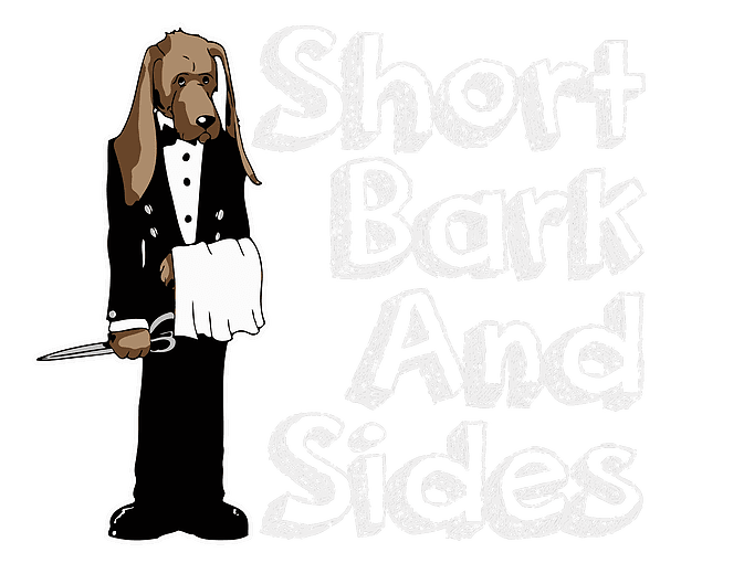 Short Bark And Sides Local Dog Groomers In The Deal Area