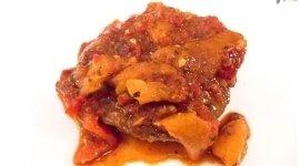 secondi di carne con peperoni