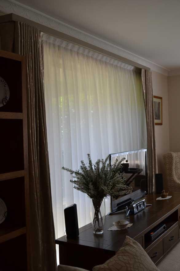 tv near window