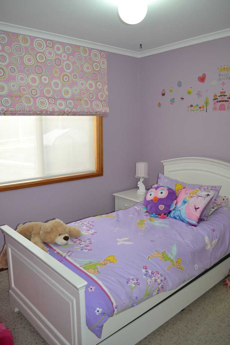 child bedroom with own pillow