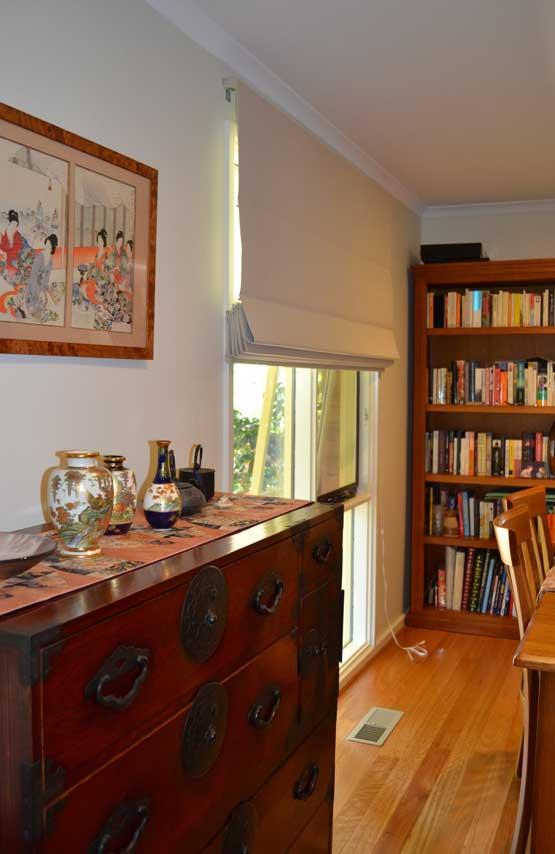 fancy dresser in home