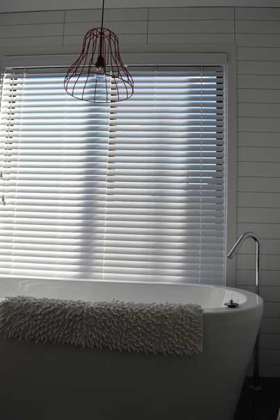 bath tub and window
