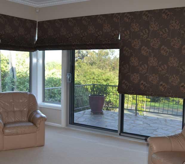 elegantly patterned shade three