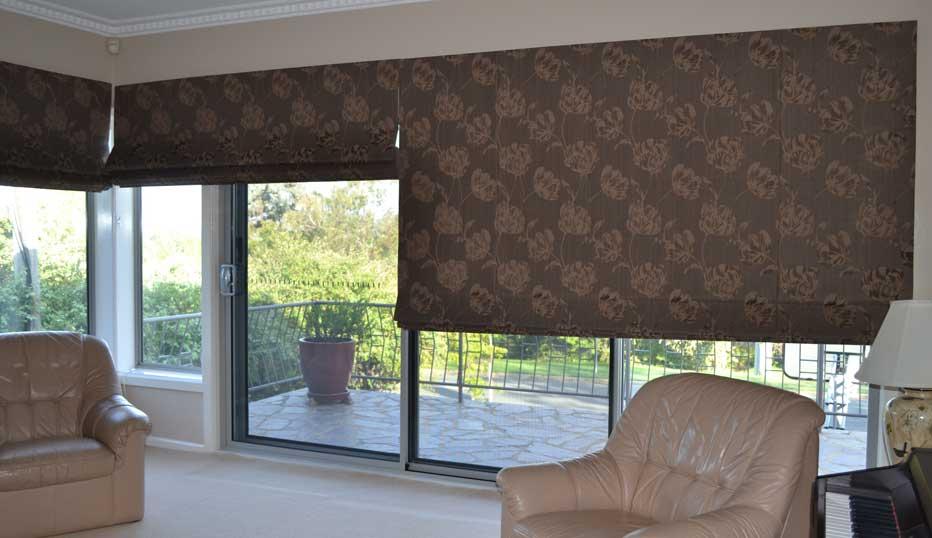 elegantly patterned shade four