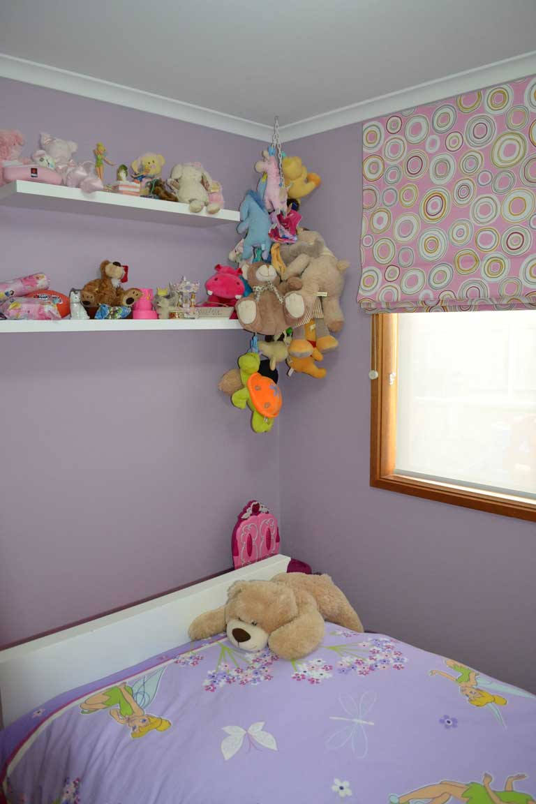 child playroom with stuffed animals