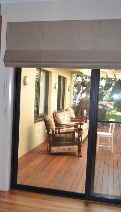 wide and tall shades for patio doors