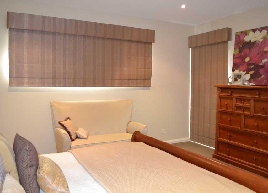 short and long bedroom shades