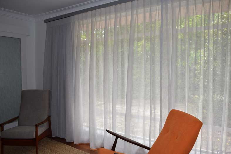 tall and wide sheer curtains