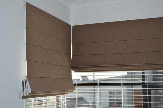 half up blinds