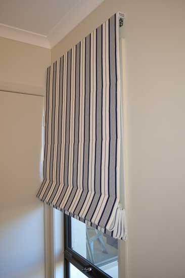 full down stripped blinds