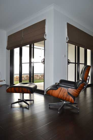 office chair near large window