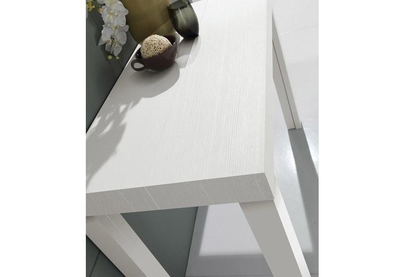 Tavolo bianco laccato