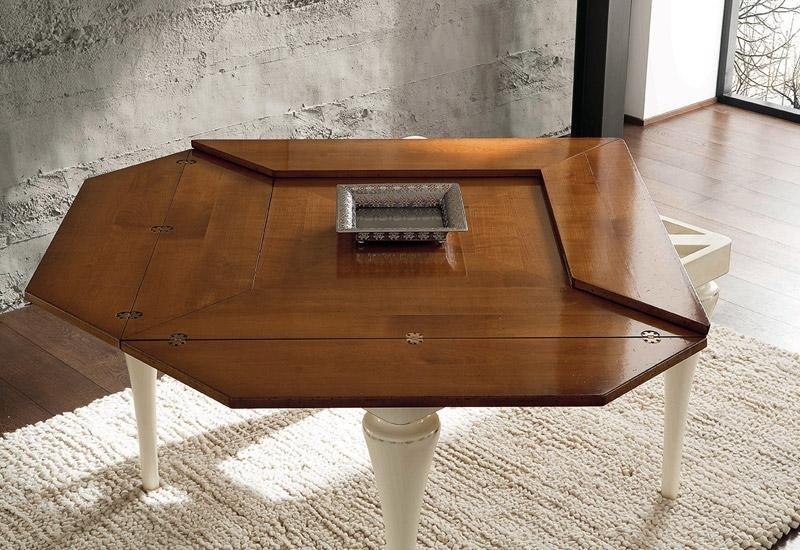 Tavolo in legno apribile