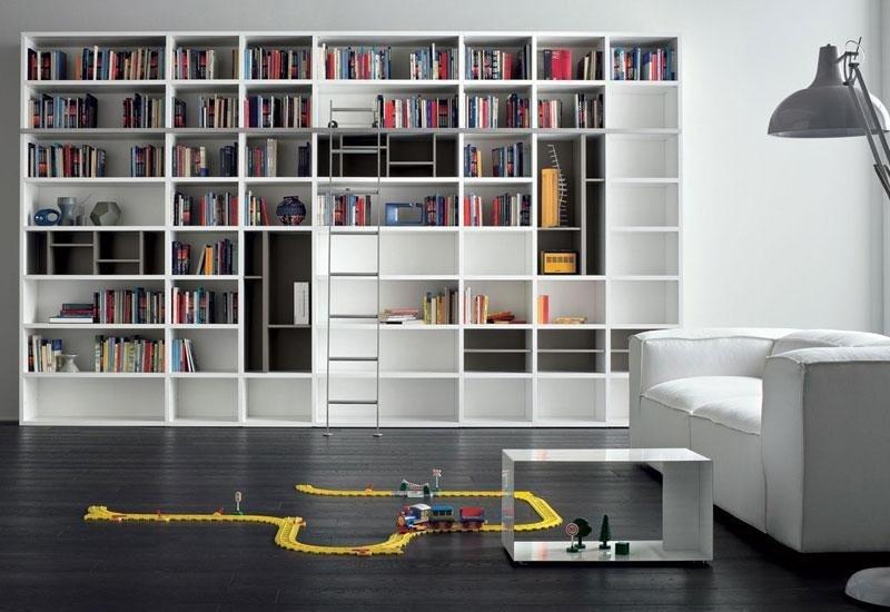 Mobile libreria per soggiorno