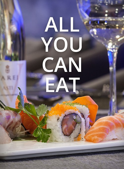 ristorante offre sushi all you can eat