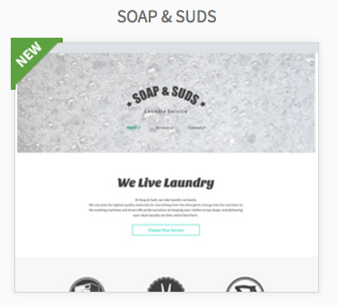 Soap & Studs Website Themes