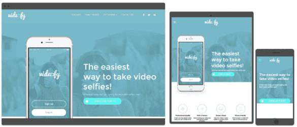 Calgary App Landing Page