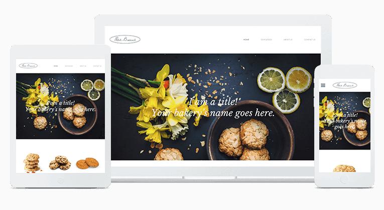 Calgary Bakery Websites