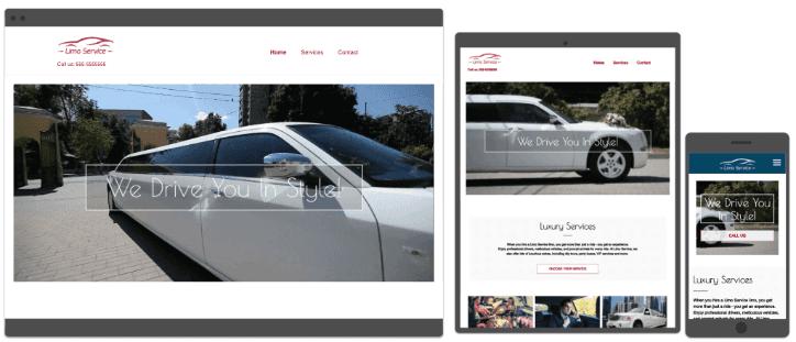 Calgary Limo Website