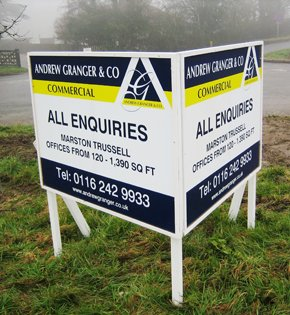 Business and estate agency signage