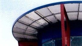 reti forate, reti striate, soluzioni estetiche per arredamento