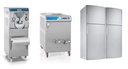 Frigoriferi, Macchine per gelateria