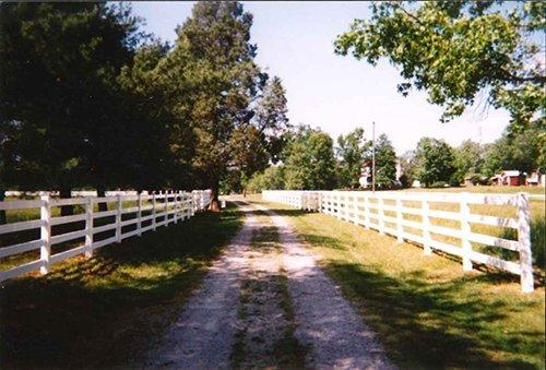 4 Rail Vinyl Fence Burlington, NC