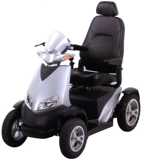 Scooter per anziani, mobilità elettrica