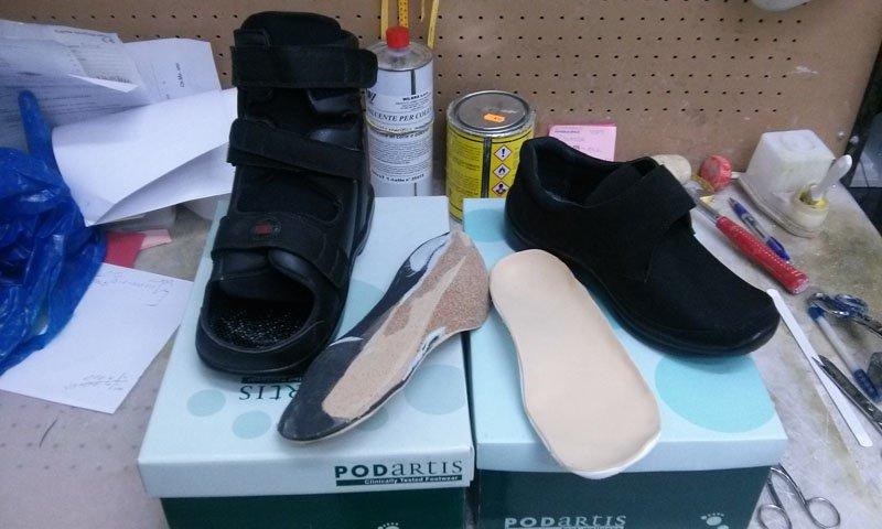 scarpe ortopediche con plantari