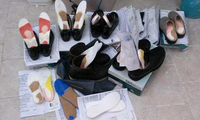 plantari all`interno di alcune scarpe