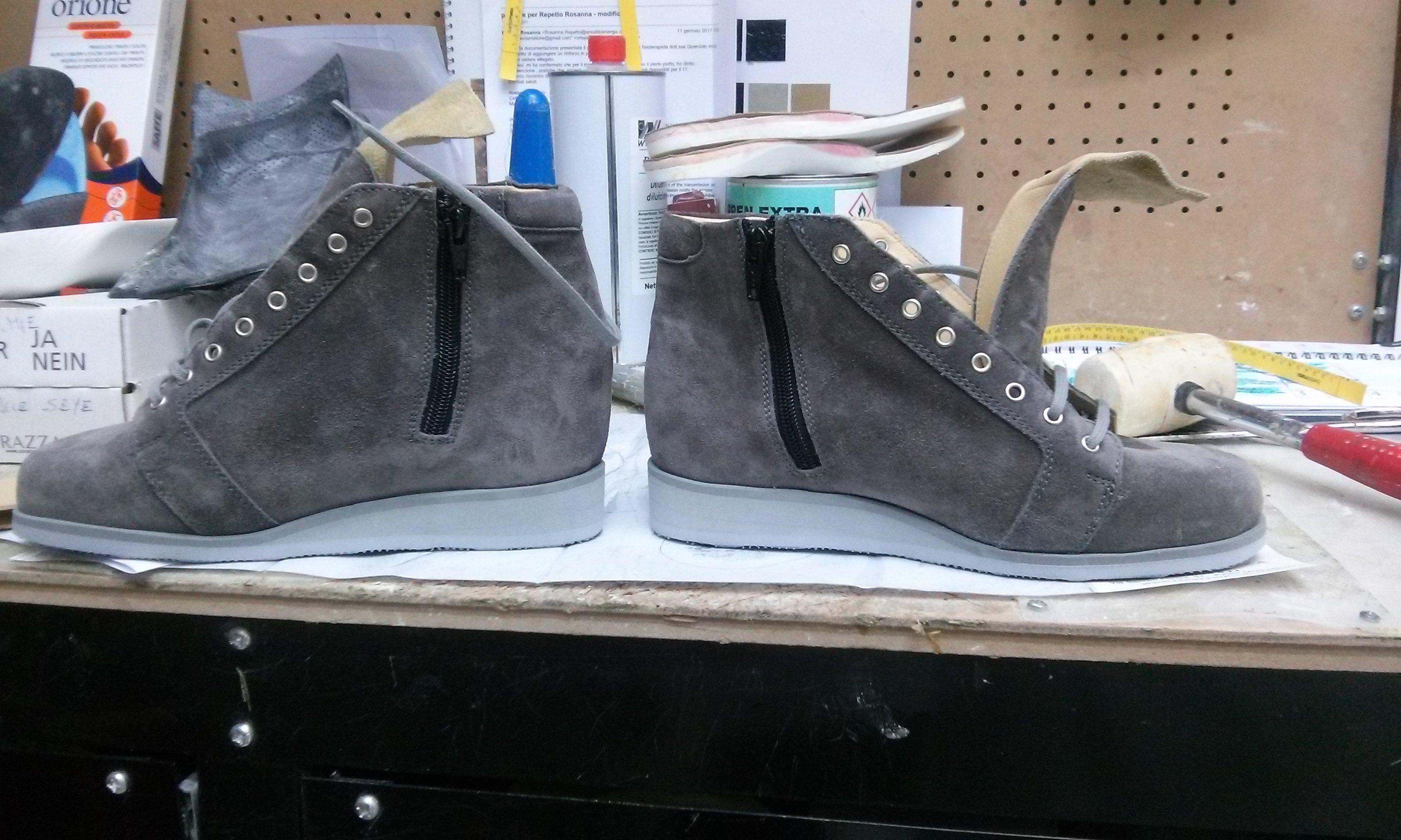 scarpe su misura ortopediche