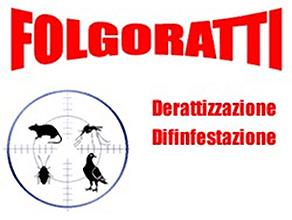 FOLGORATTI DISINFESTAZIONI E DERATIZZAZIONI FOLGORATTI di ALESSANDRO BORGIA E C. sas - LOGO