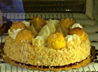 produzione torte personalizzate, saint honorè, torte gelato,