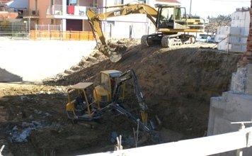 lavori di scavo edili