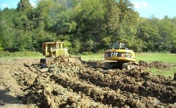 scavi per lavori idrogeologic