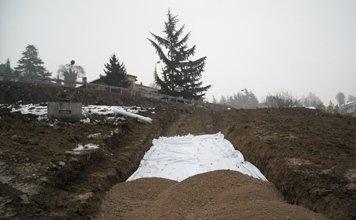 spianamento terreno per strade