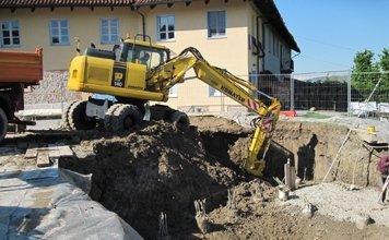 scavi per piscine