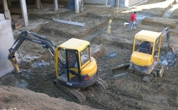 scavi per edilizi