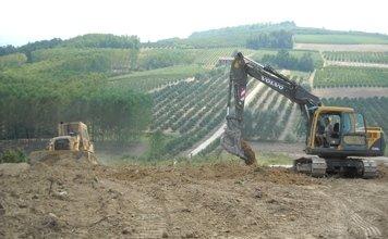 scavi per terreni agricoli